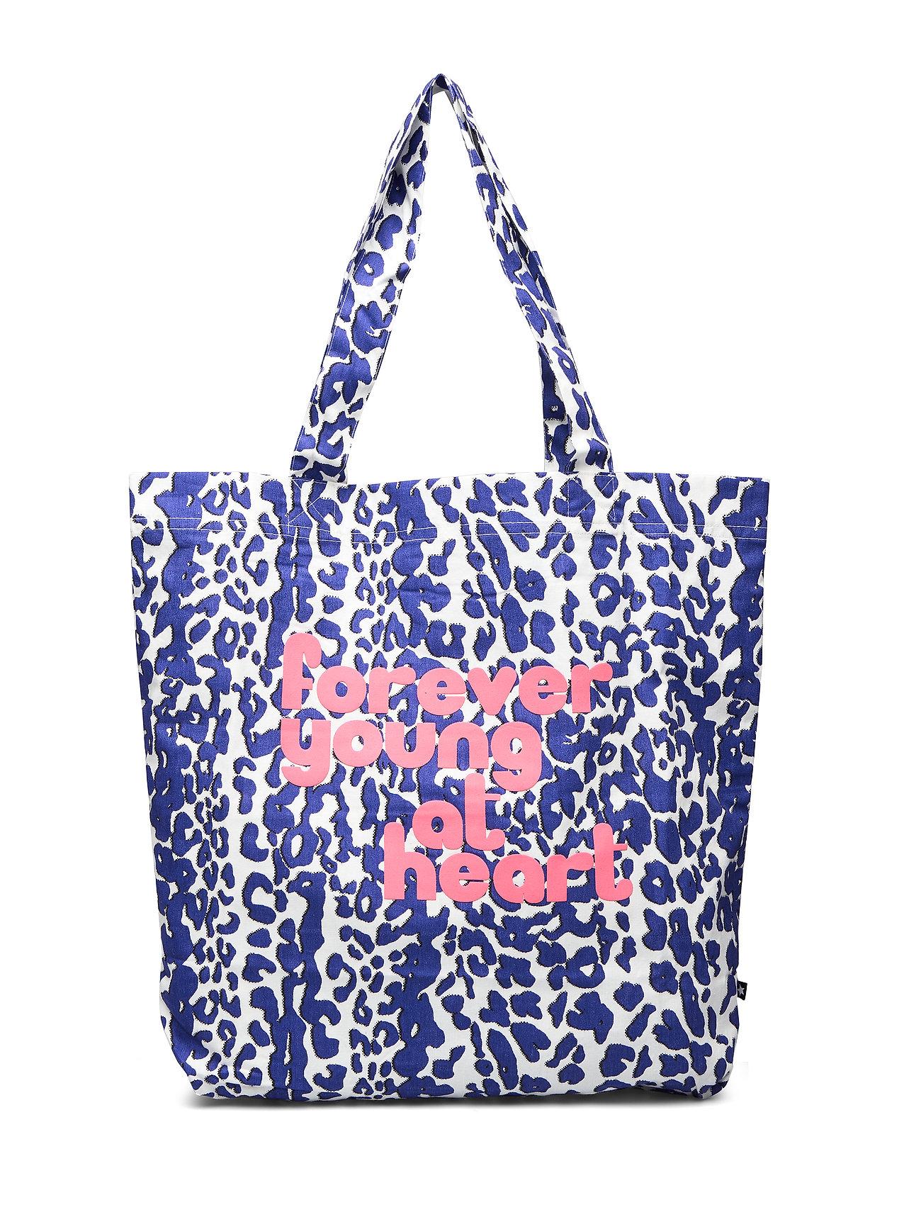 molo Tote Bag - BLUE LEO