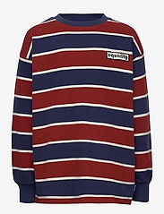 Molo - Monau - sweatshirts - 3 colour stripe - 0