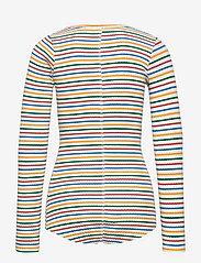 Molo - Rochelle - langærmede t-shirts - fine rainbow stripe - 1