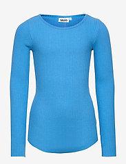 Molo - Rochelle - langærmede t-shirts - french blue - 0