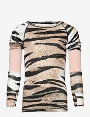 Molo - Odelia - langærmede t-shirts - wild tiger - 1