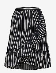 Molo - Blondie - nederdele - vertical bw stripe - 0