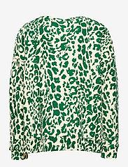 Molo - Mika - sweatshirts - green leopard - 1