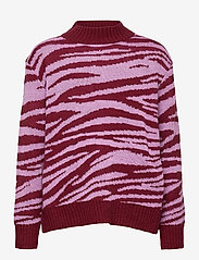 Molo - Gady - gilets - zebra knit - 0