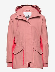 Molo - Henrietta - shell jacket - withered rose - 1