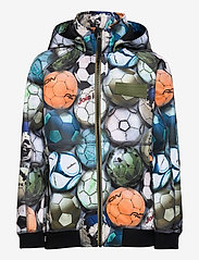 Molo - Cloudy - softshell-jakker - football camo - 0