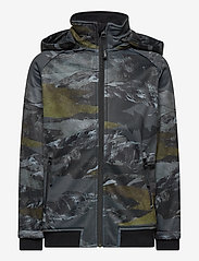 Molo - Cloudy - softshell-jakker - mountain camo - 0