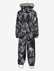 Molo - Polaris Fur - snowsuit - teddy - 2