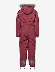 Molo - Polaris Fur Recycle - snowsuit - maroon - 1