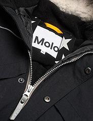 Molo - Polaris Fur - snowsuit - black - 2
