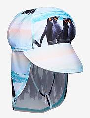 Molo - Nando - czapka uv - penguin stripe - 0