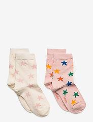 Molo - Nesi - strømper - rainbow stars - 0