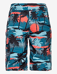 Molo - Natan - badehosen - palm trees blue - 1