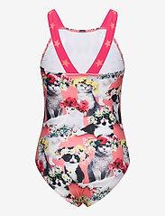 Molo - Nakia - swimsuits - flower power cats - 1