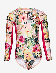 Molo - Necky - swimsuits - hawaiian flowers - 0
