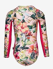 Molo - Necky - swimsuits - hawaiian flowers - 1