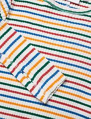 Molo - Rochelle - langærmede t-shirts - fine rainbow stripe - 2