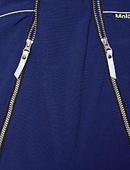 Molo - Pyxis Fur Recycle - snowsuit - ink blue - 6