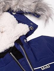 Molo - Pyxis Fur Recycle - snowsuit - ink blue - 8