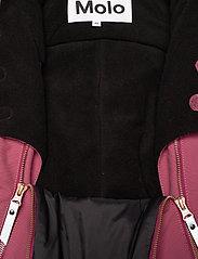 Molo - Pyxis Fur Recycle - snowsuit - maroon - 5