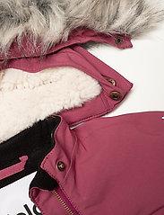 Molo - Pyxis Fur Recycle - snowsuit - maroon - 8