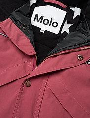 Molo - Polaris Fur Recycle - snowsuit - maroon - 3