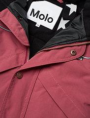 Molo - Polaris Fur Recycle - snowsuit - maroon - 4