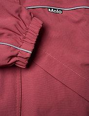 Molo - Polaris Fur Recycle - snowsuit - maroon - 5