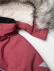Molo - Polaris Fur Recycle - snowsuit - maroon - 8