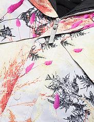 Molo - Polaris Fur - snowsuit - eternal flowers - 5