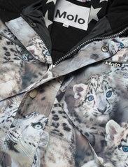 Molo - Polaris Fur - snowsuit - snowy leopards - 4