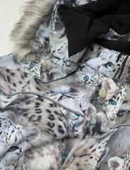 Molo - Polaris Fur - snowsuit - snowy leopards - 5