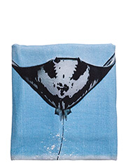 beach towel - JUMPING STINGRAY