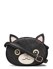 Cat Bag - BLACK GLITTER