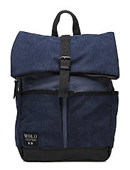 Roll top bag - DEEP BLUE