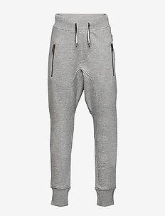Ashton - spodnie dresowe - grey melange