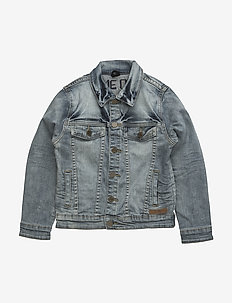 Harald - jakker - worn denim