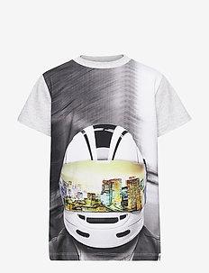 Road - korte mouwen - mc helmet