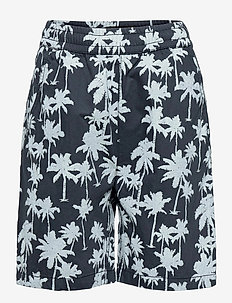 Acton - shorts - summernight palmtree