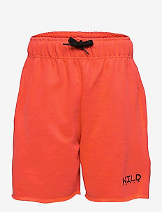 Adian - shorts - neon coral