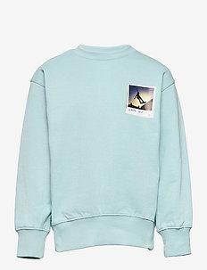 Mattis - sweatshirts - sterling blue