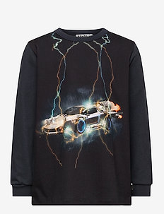 Rez - langermede t-skjorter - lightning car big