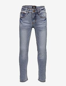 Aksel - jeans - worn denim