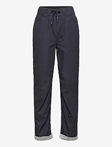 Abe - trousers - dark navy