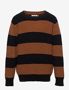 Bosse - jumpers - iron stripe