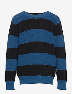 Bosse - jumpers - sea stripe