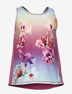 Oriana - bez rękawów - hibiscus rainbow