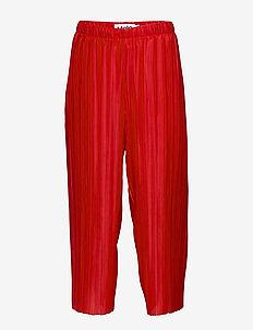 Aliecia - trousers - carmine red