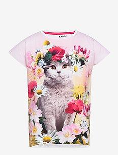 Ragnhilde - kortærmede - flower cat
