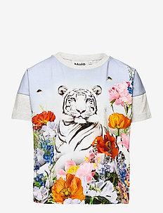 Raeesa - kortærmede - flower tiger